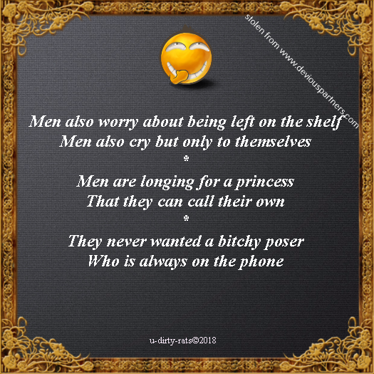 men also worry